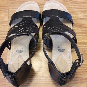 St John's Bay Black Sandals